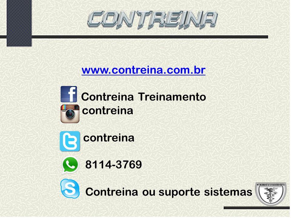 www.contreina.com.br Contreina Treinamento contreina 8114-3769 Contreina ou suporte sistemas