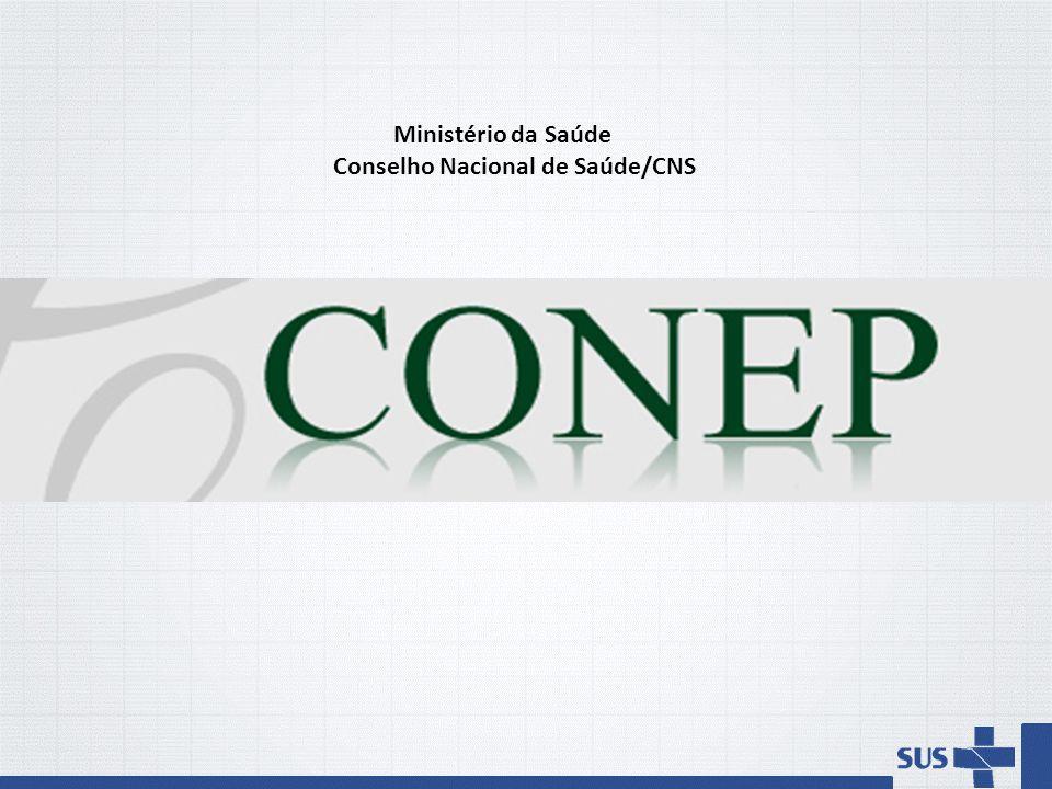 Ministério da Saúde Conselho Nacional de Saúde/CNS