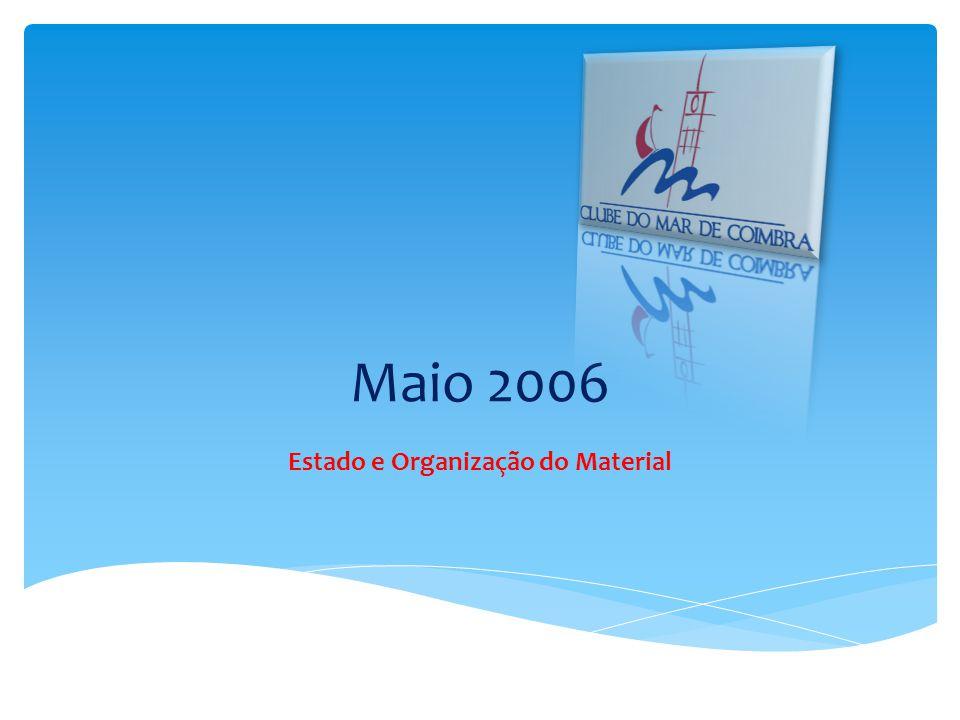 Maio 2006 Estado e Organização do Material