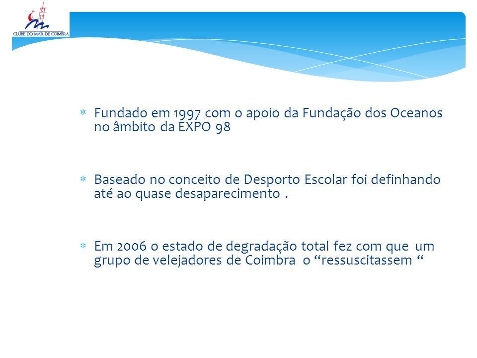  Fundado em 1997 com o apoio da Fundação dos Oceanos no âmbito da EXPO 98  Baseado no conceito de Desporto Escolar foi definhando até ao quase desaparecimento.