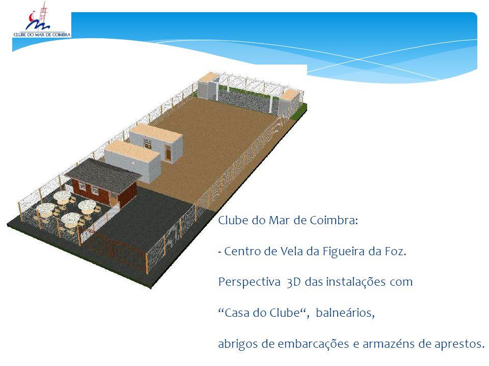 Clube do Mar de Coimbra: - Centro de Vela da Figueira da Foz.