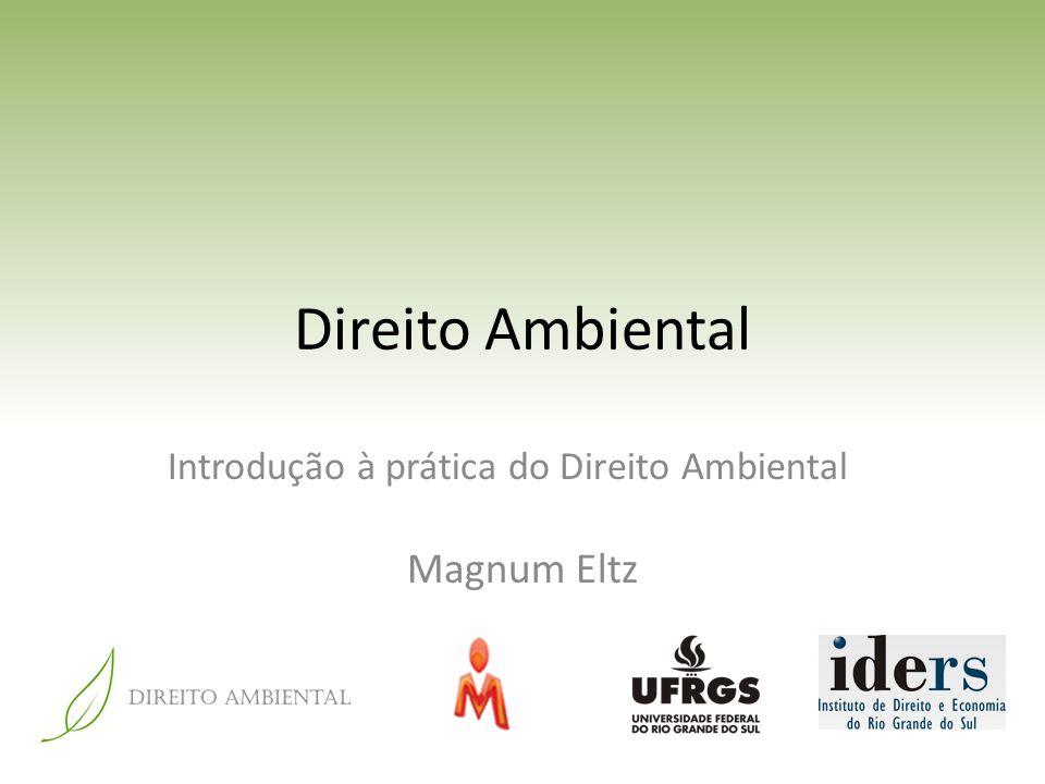 Direito Ambiental Introdução à prática do Direito Ambiental Magnum Eltz