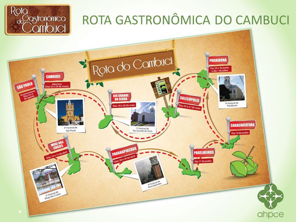 IV ROTA GASTRONÔMICA DO CAMBUCI