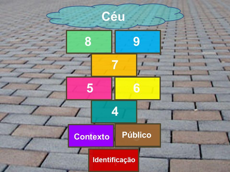 1 23 4 56 7 89 Céu Identificação Contexto Público