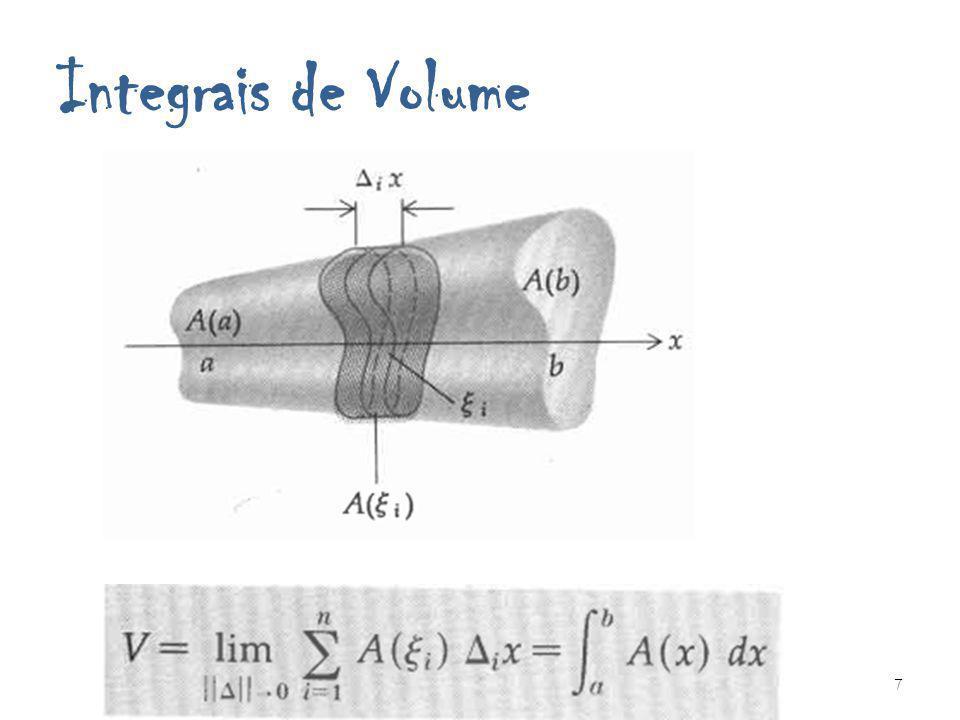 Integrais de Volume Integrais Múltiplas e Integrais de Volume 7