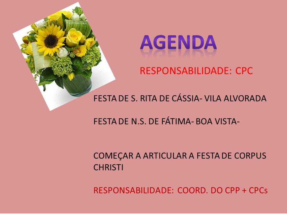 FESTA DE S. RITA DE CÁSSIA- VILA ALVORADA FESTA DE N.S.