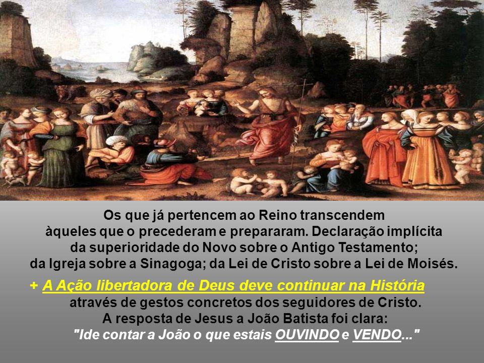 3. O TESTEMUNHO de Jesus sobre João: - Ele não é um CANIÇO que verga conforme o vento: não é um pregador oportunista que se adapta conforme a situação