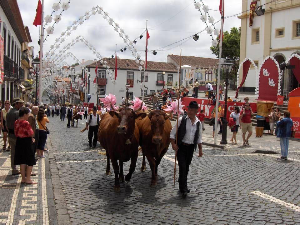 Festas Sanjoaninas e do Divino Espírito Santo em Angra.