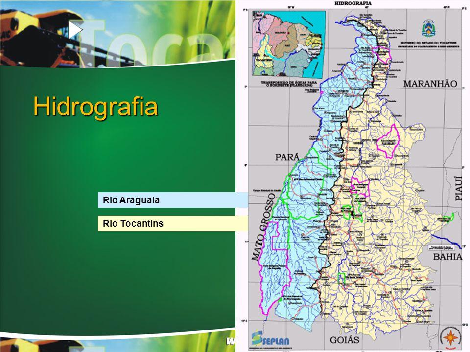 Rio Araguaia Rio Tocantins Hidrografia