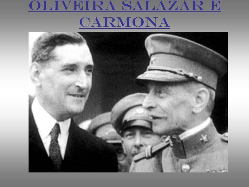 OLIVEIRA SALAZAR E CARMONA