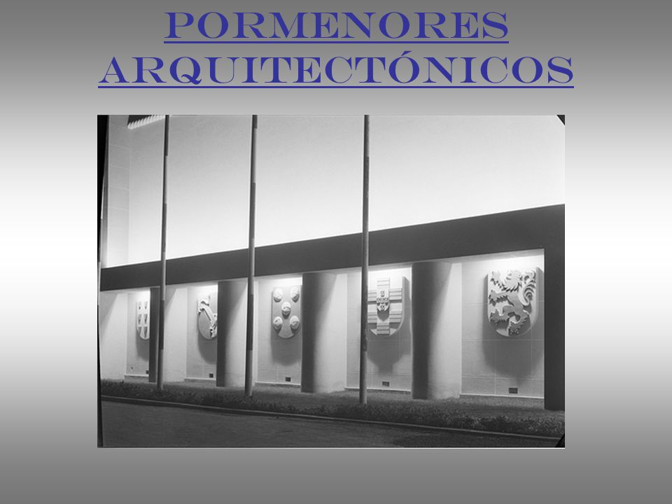 PORMENORES ARQUITECTÓNICOS