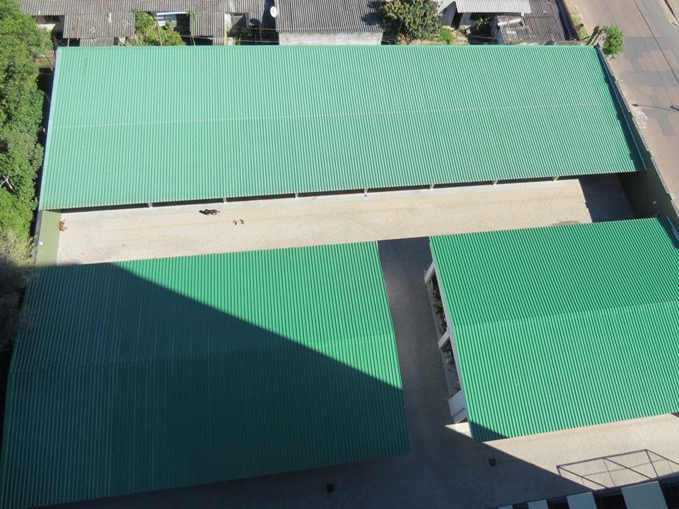 Construtora e Incorporadora Colúmbia Ltda Garagens e perfil dos fundos (lado sul)