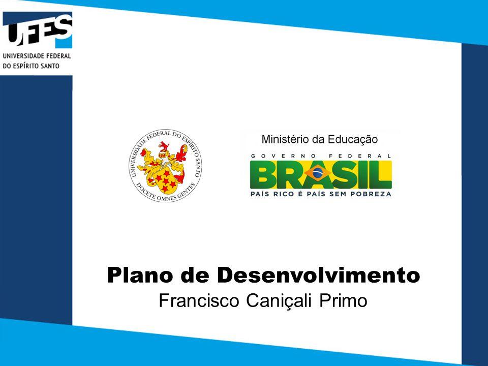 Plano de Desenvolvimento Francisco Caniçali Primo