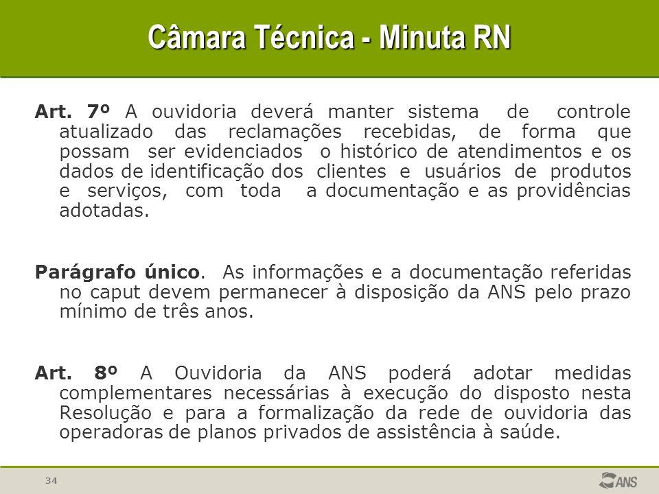 34 Câmara Técnica - Minuta RN Art.