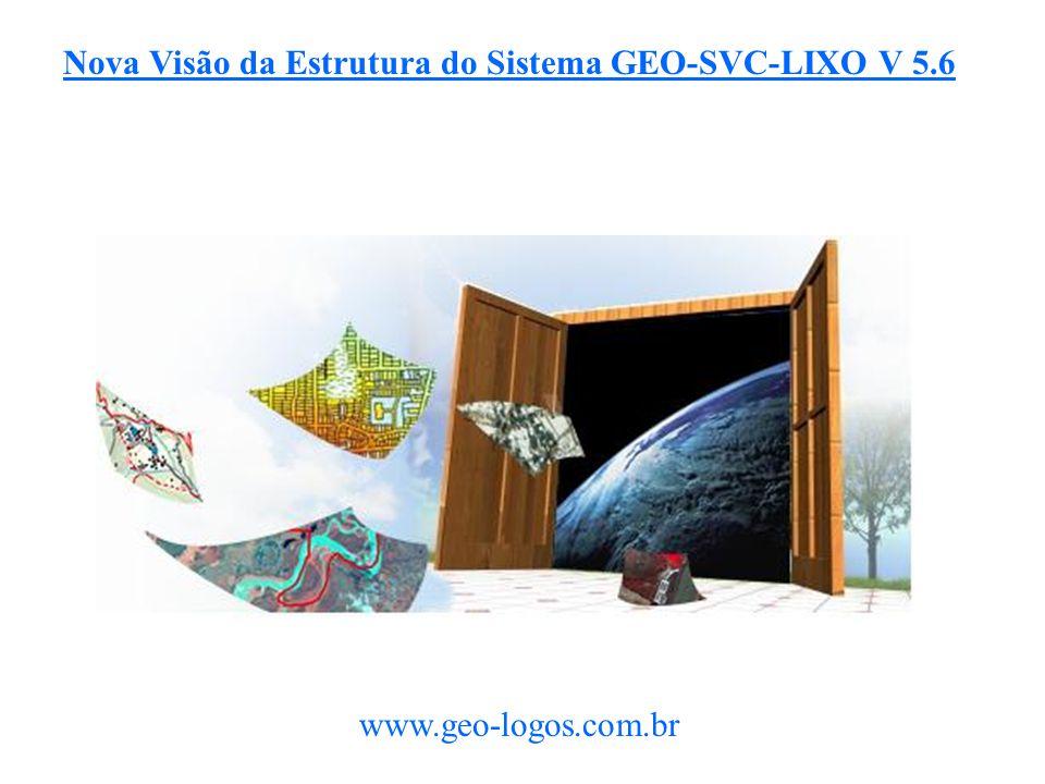 Nova Visão da Estrutura do Sistema GEO-SVC-LIXO V 5.6 www.geo-logos.com.br