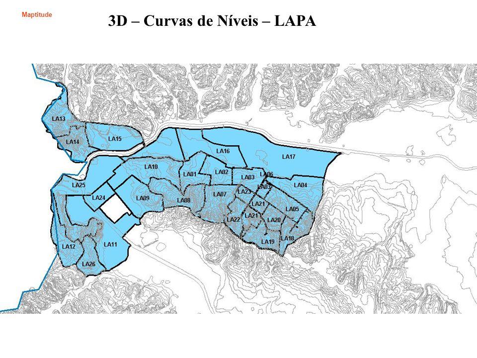 3D – Curvas de Níveis – LAPA