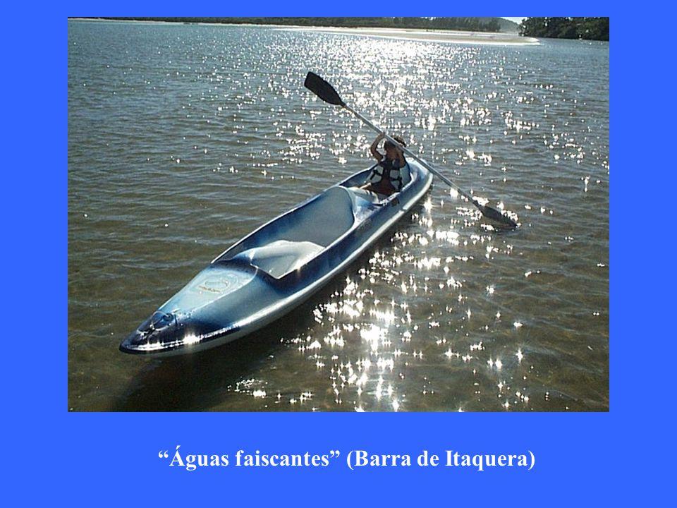 Águas faiscantes (Barra de Itaquera)