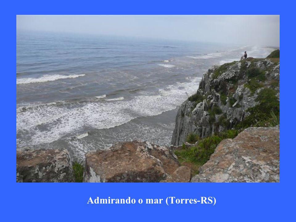 Admirando o mar (Torres-RS)