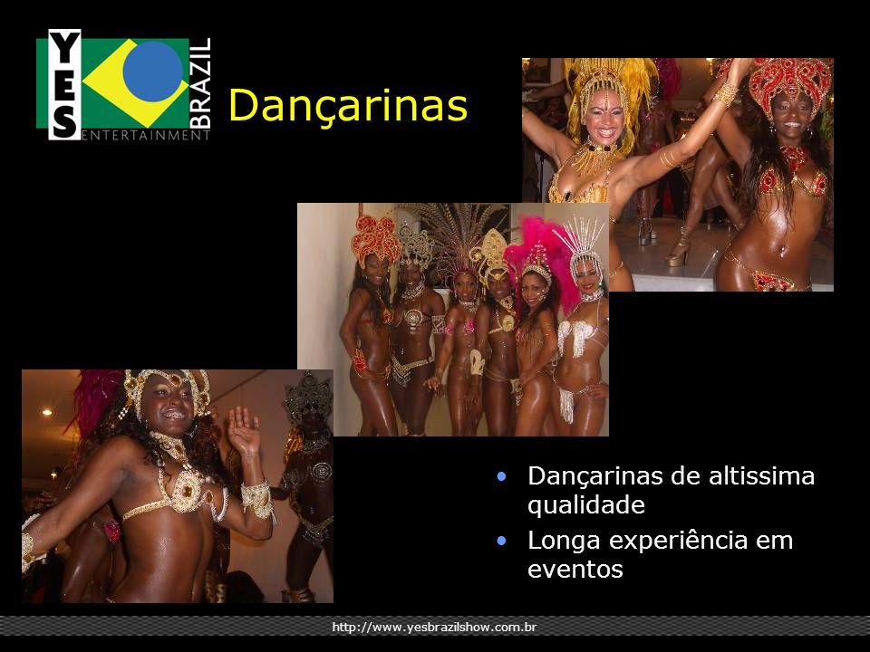 http://www.yesbrazilshow.com.br Dançarinas Dançarinas de altissima qualidade Longa experiência em eventos