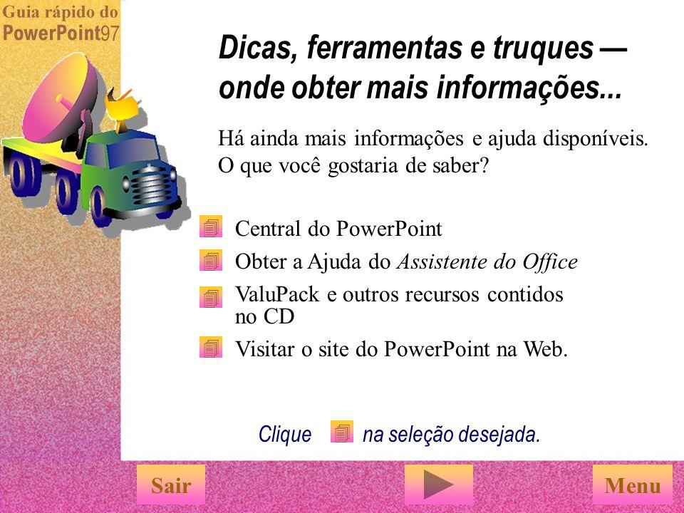 O PowerPoint oferece a forma mais fácil de criar e publicar faixas animadas da Web. Escolha 'Salvar como HTML' no menu 'Arquivo' e um Assistente o aju