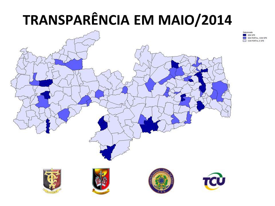 TRANSPARÊNCIA EM MAIO/2014