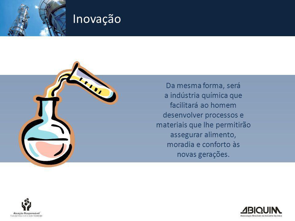 Responsabilidade social Como em muitas outras atividades, a fabricação de produtos químicos envolve riscos.