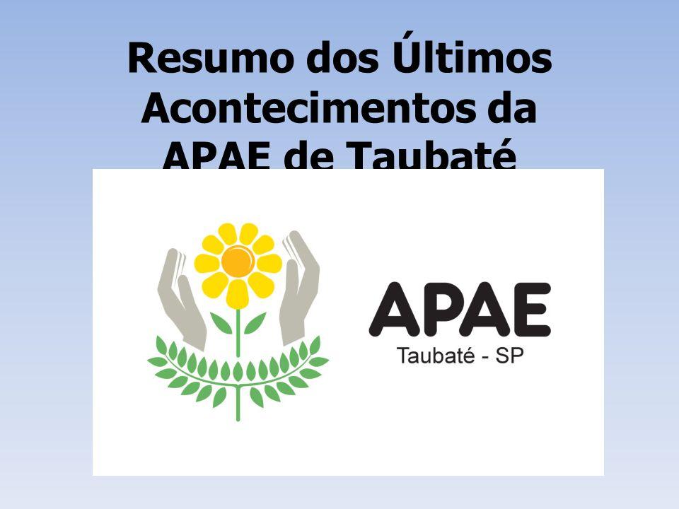 Visita da Vereadora Vera Saba No dia 11/04 a Vereadora Vera Saba e sua assessora Carmen estiveram na APAE de Taubaté buscando formalizar uma boa parceria.