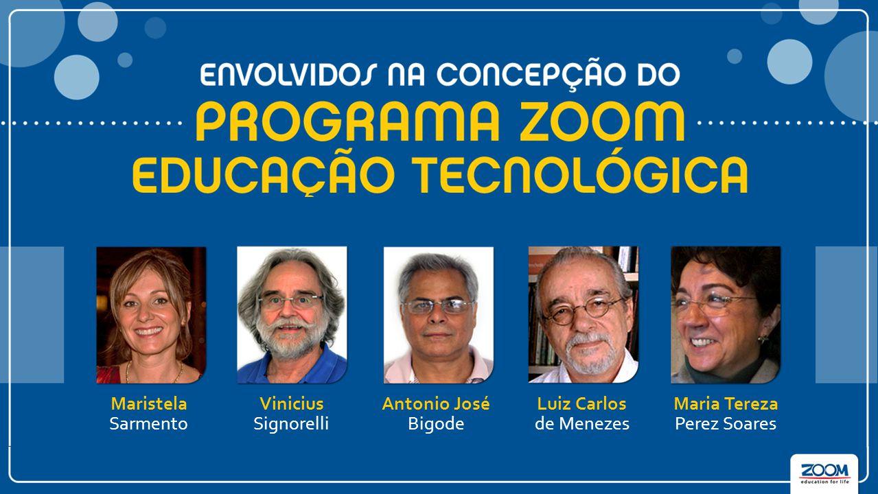 Maristela Sarmento Luiz Carlos de Menezes Antonio José Bigode Vinicius Signorelli Maria Tereza Perez Soares