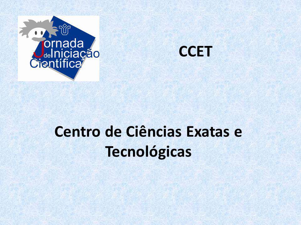 Centro de Ciências Exatas e Tecnológicas CCET