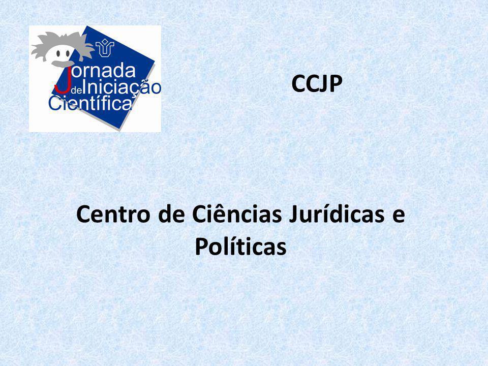 Centro de Ciências Jurídicas e Políticas CCJP