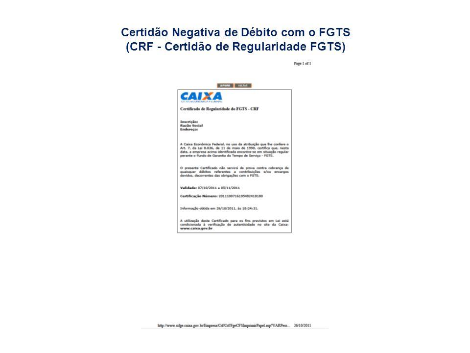 SEFIP (Relação de Empregados Constantes do Arquivo SEFIP)