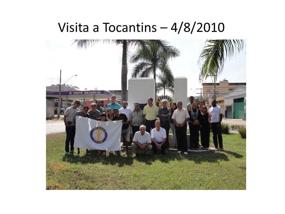Visita a Tocantins – 4/8/2010