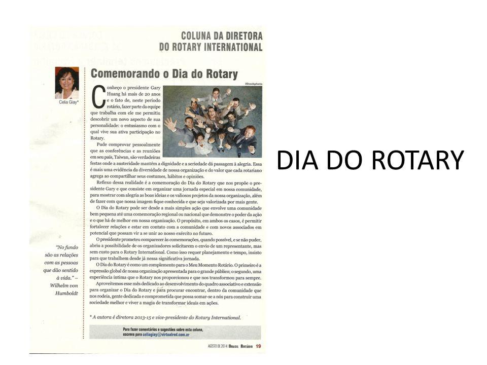 DIA DO ROTARY