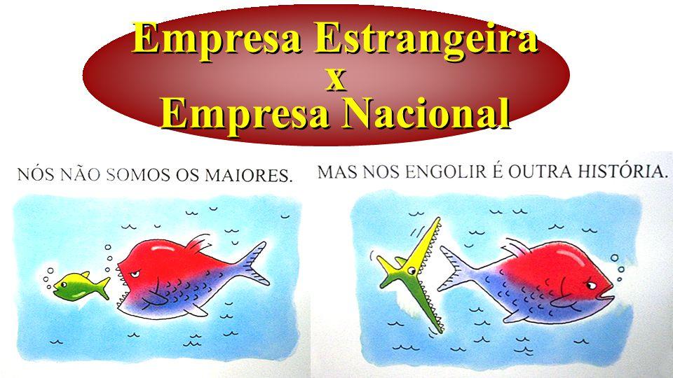 Empresa Estrangeira x Empresa Nacional
