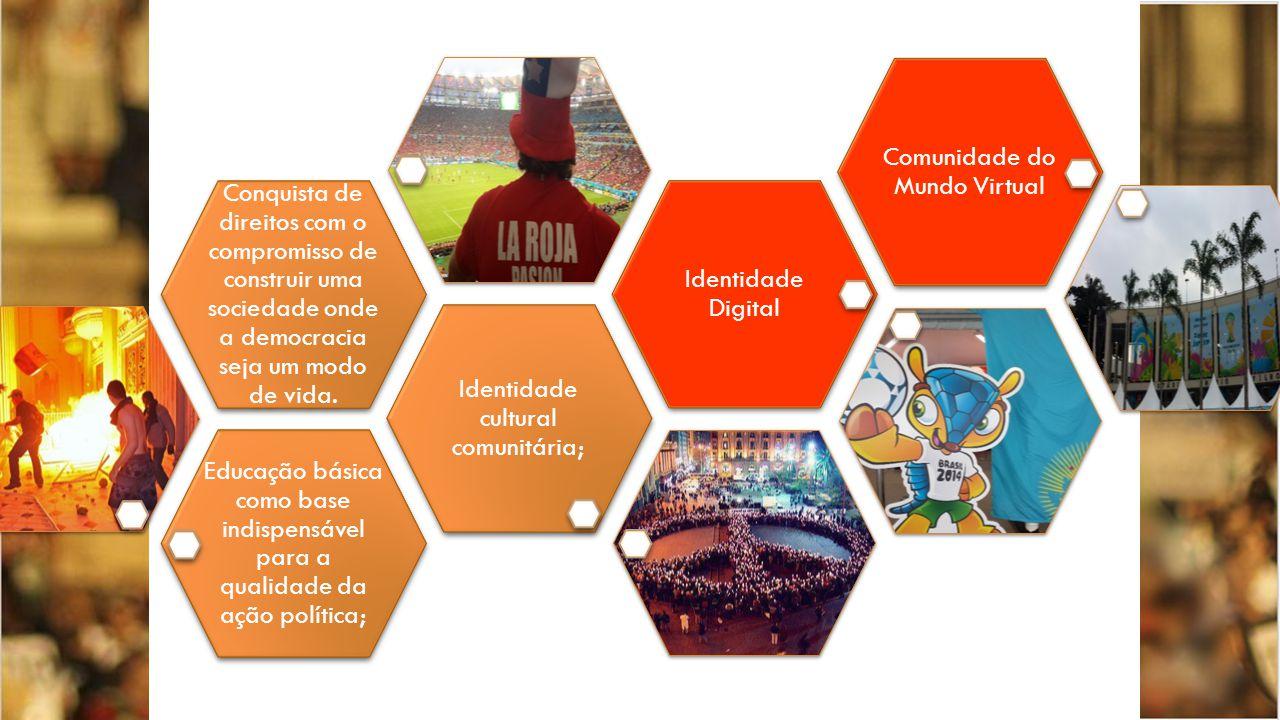 Educação básica como base indispensável para a qualidade da ação política; Identidade cultural comunitária; Conquista de direitos com o compromisso de