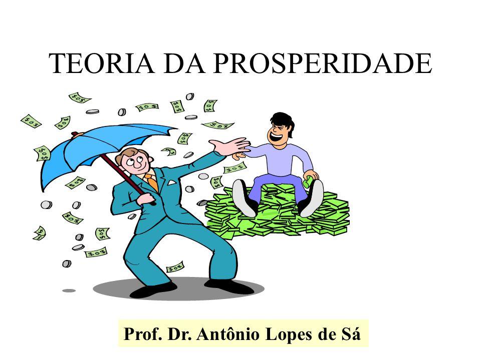 TEORIA DA PROSPERIDADE Prof. Dr. Antônio Lopes de Sá