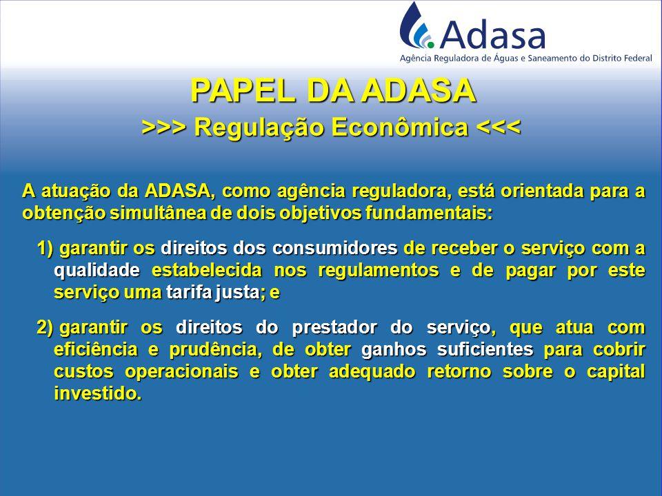 Contrato de Concessão nº 001/2006 Assinado entre a ADASA e a CAESB em 23/02/2006; Assinado entre a ADASA e a CAESB em 23/02/2006; Regula a exploração do serviço de abastecimento de água e esgotamento sanitário de que é titular a CAESB; Regula a exploração do serviço de abastecimento de água e esgotamento sanitário de que é titular a CAESB; Na assinatura a CAESB reconhece que as tarifas iniciais constantes do Contrato, em conjunto com os mecanismos de reajuste anual e revisão tarifária periódica estabelecidos no Contrato, são suficientes para a manutenção do equilíbrio econômico-financeiro da concessão.