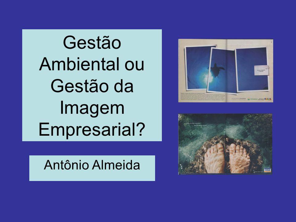 Gestão Ambiental ou Gestão da Imagem Empresarial Antônio Almeida