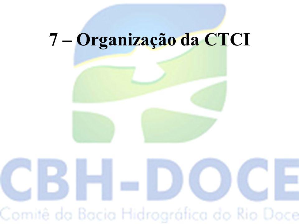7 – Organização da CTCI