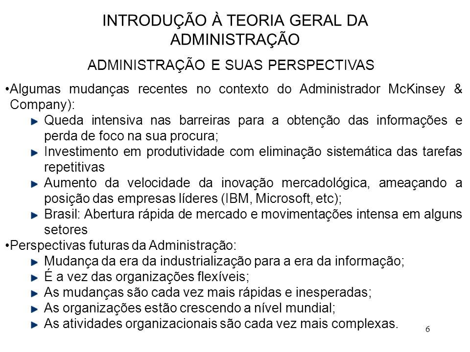 17 ABORDAGEM CLÁSSICA DA ADMINISTRAÇÃO ADMINISTRAÇÃO CIENTÍFICA  Padronização de métodos e de máquinas;  Supervisão funcional.