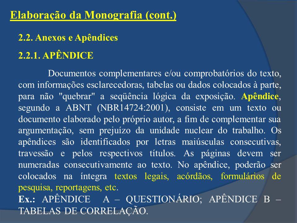 2.2.Anexos e Apêndices 2.2.1.