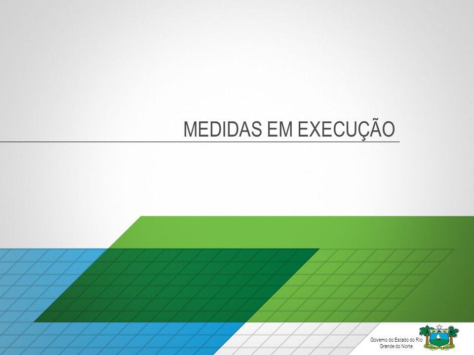 MEDIDAS EM EXECUÇÃO Governo do Estado do Rio Grande do Norte