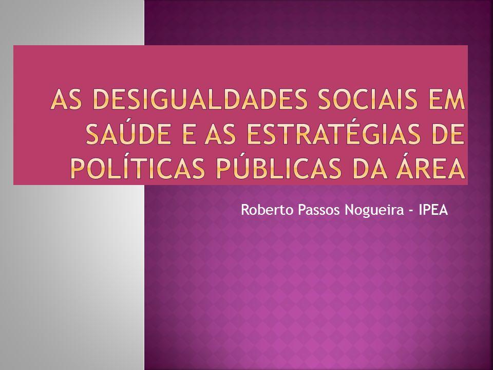 Roberto Passos Nogueira - IPEA