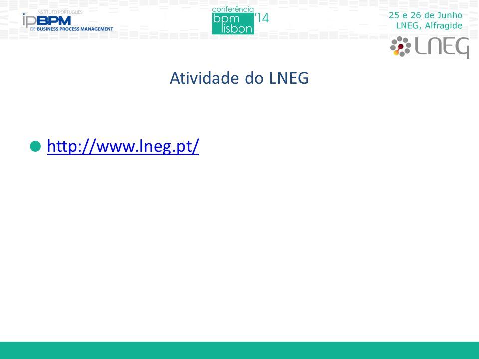 Atividade do LNEG  http://www.lneg.pt/ http://www.lneg.pt/