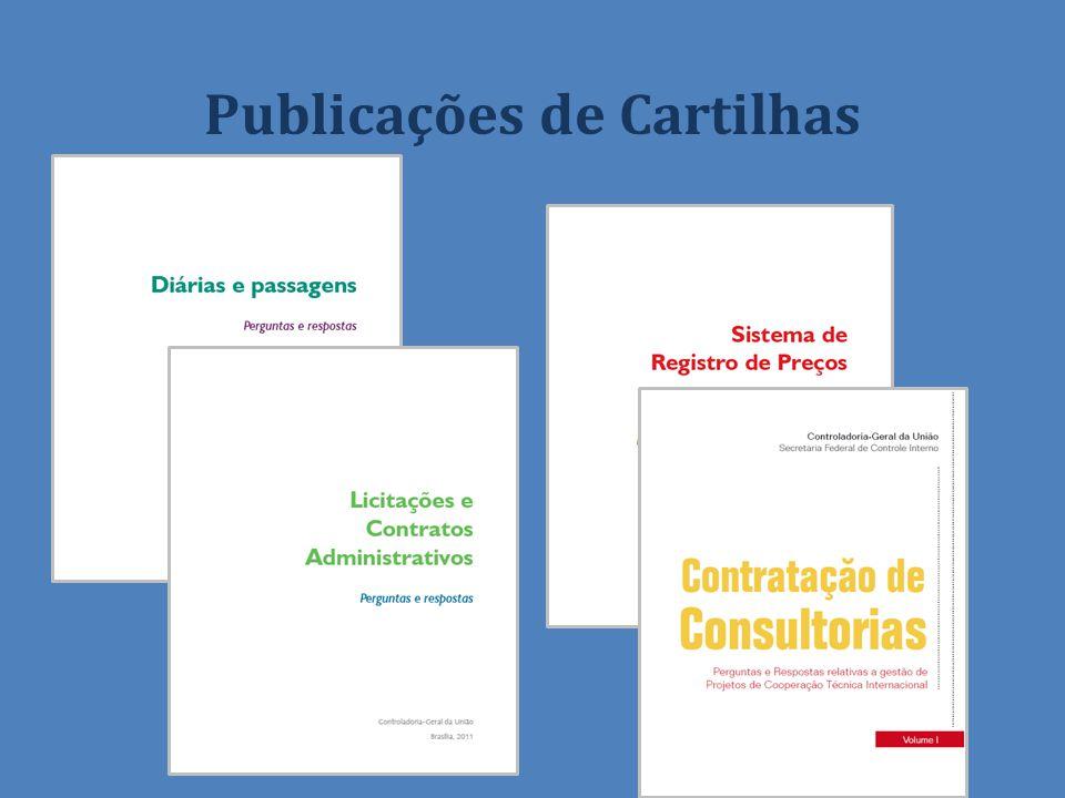 Publicações de Cartilhas