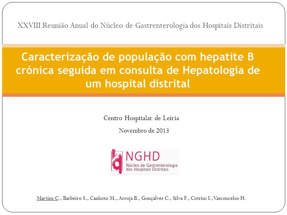 Martins C., Barbeiro S., Canhoto M., Arroja B., Gonçalves C., Silva F., Cotrim I., Vasconcelos H.