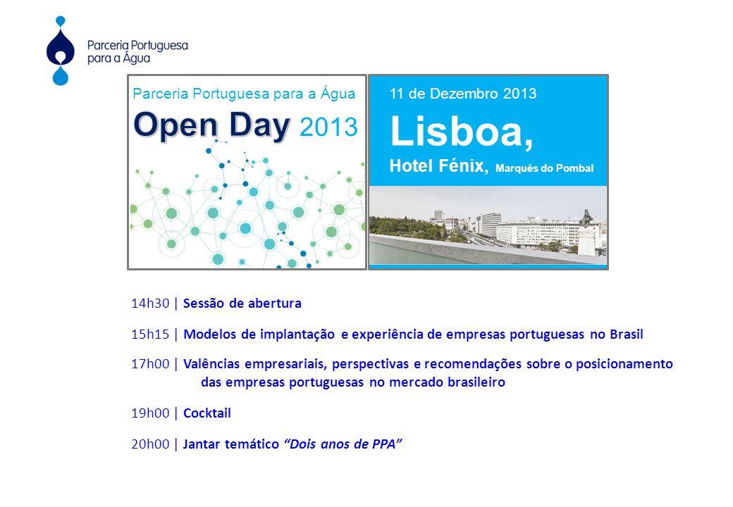 11 de Dezembro 2013 Lisboa, Hotel Fénix, Marquês do Pombal Organização:Com o patrocínio de: Apoio Institucional: 14h30 | Sessão de abertura 15h15 | Mo
