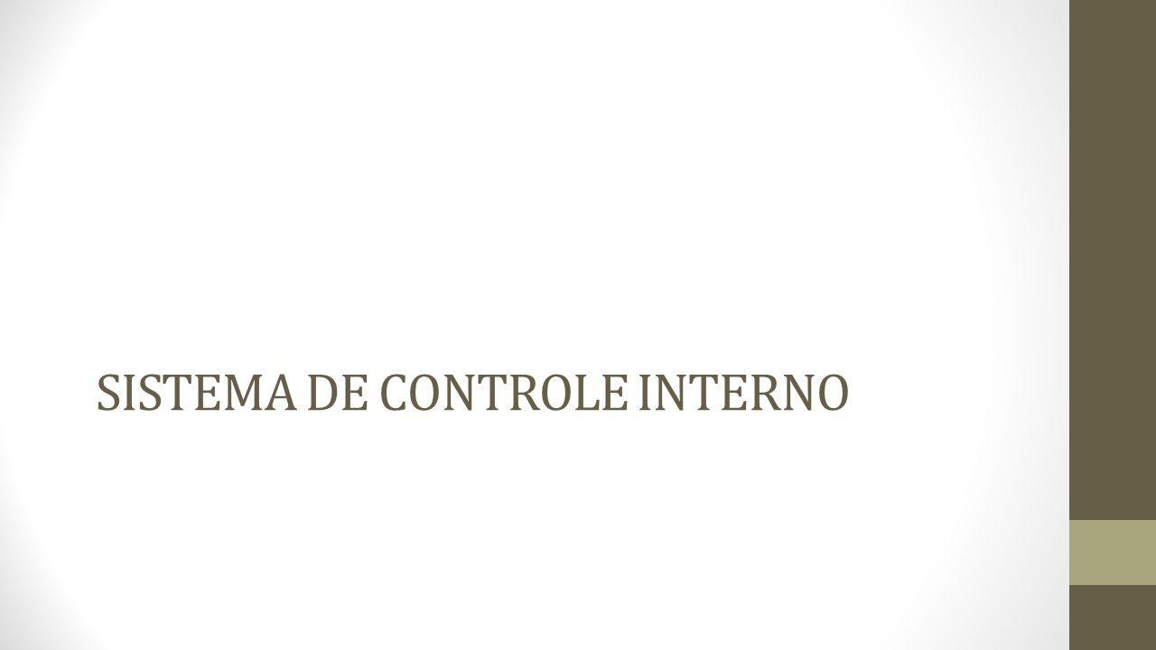 O Sistema de Controle Interno O Sistema de Controle Interno é um processo integrado efetuado pela direção e corpo de funcionários, e é estruturado para enfrentar os riscos e fornecer razoável segurança de que na consecução da missão da entidade os seguintes objetivos gerais serão alcançados: Execução ordenada, ética, econômica, eficiente e eficaz das operações; Cumprimento das obrigações de accountability (prestação de contas); Cumprimento das leis e regulamentos aplicáveis; Salvaguarda dos recursos para evitar perdas, mau uso e dano.