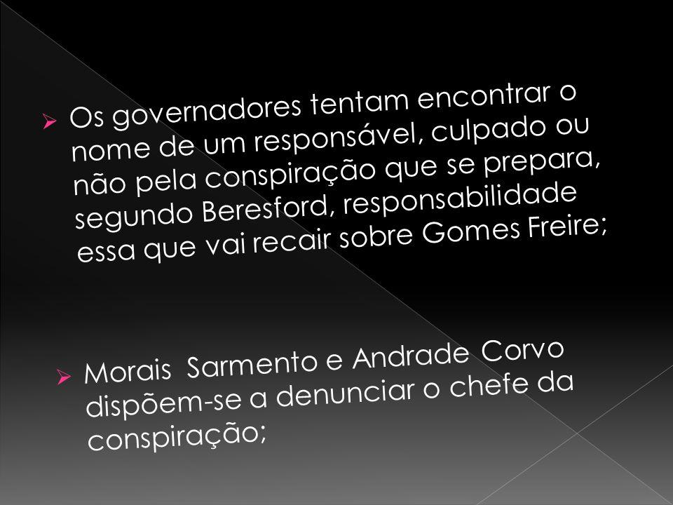  Vicente, um elemento do povo, tece comentários desfavoráveis acerca do general ( estrangeirado e não aliado do povo);  É levado por dois polícias à presença D.