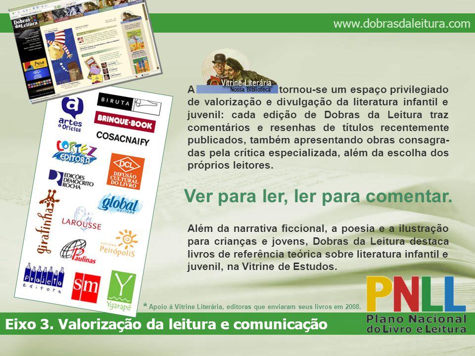 www.dobrasdaleitura.com Eixo 3.